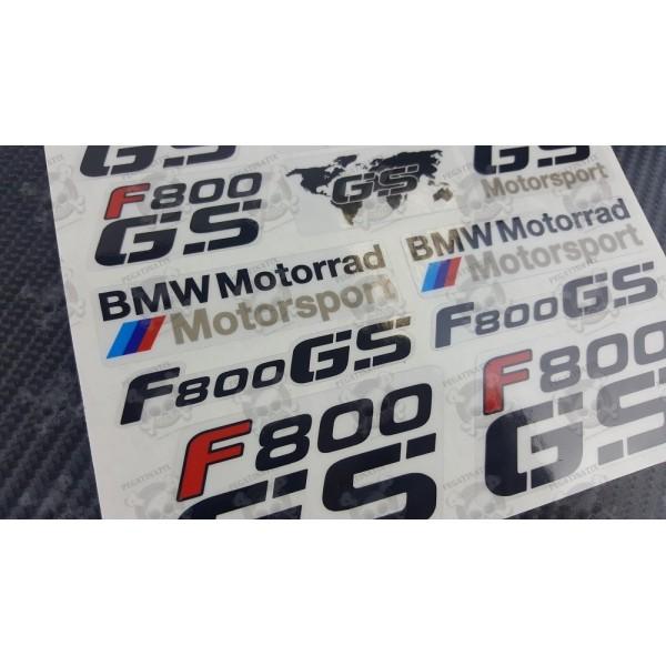 FGS Parts Motorcycle Motorbike Decal Sticker Set Pcs F - Bmw motorrad motorsport decals
