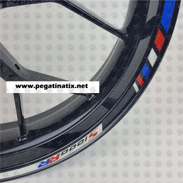 Motorsport SRR Reflective Wheel Stickers Rim Stripes Decals - Bmw decals for wheels