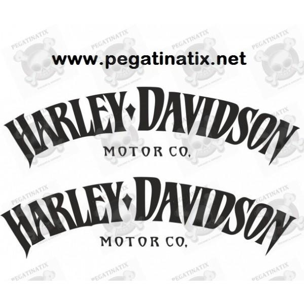 Decals Motorcycle HARLEY DAVIDSON MOTOR CO - Stickers for motorcycles harley davidsons