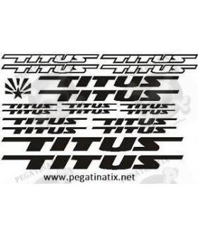 Sticker decal bike cycle TITUS