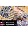 Stickers decals FLAG OF ALL STATES OF USA + YOUR NAME