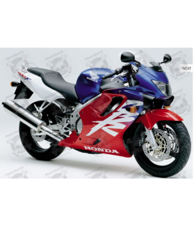 Honda CBR 600 F4 2000 - RED/WHITE/BLUE VERSION DECALS