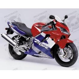 LoveMoto Full Motorcycle Fairings Bolt Screw Kits for CBR 600 F4i 01 02 03 CBR600F4i 2001 2002 2003 Aluminium Screws Fastener Clips Black Silver
