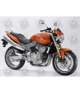 STICKERS SET HONDA CB600F HORNET YEAR 2006 ORANGE VERSION