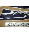 STICKER SET HONDA CB 500S YEAR 1998 YELLOW VERSION