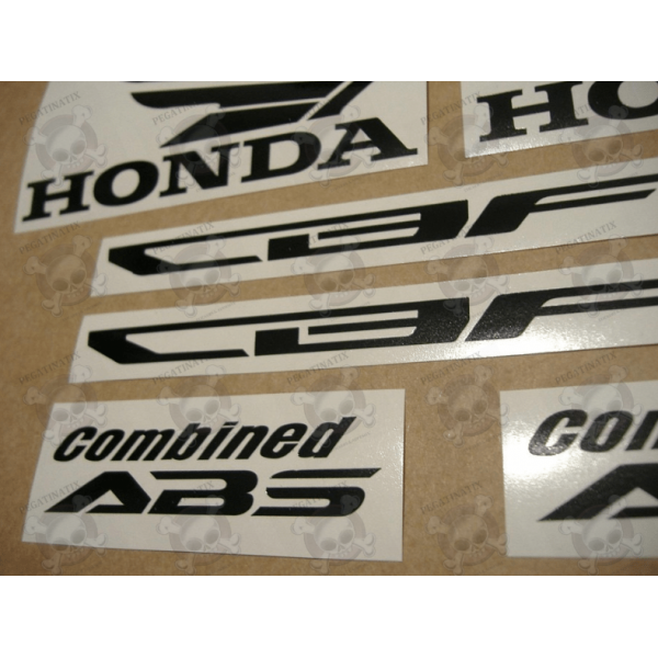 STICKER SET HONDA CBF 1000 YEAR 2011 GOLD VERSION