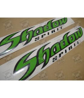 TANK STICKER HONDA SHADOW LIME GREEN
