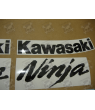 STICKER SET KAWASAKI ZX-6R YEAR 2007 ORANGE