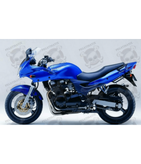 STICKERS KAWASAKI ZR-7S YEAR 2002 VERSION BLUE