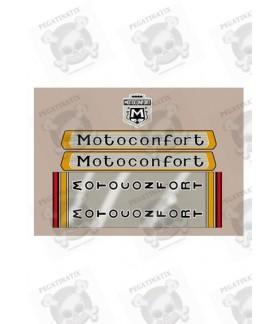 STICKERS CLASSIC MOTOCONFORT