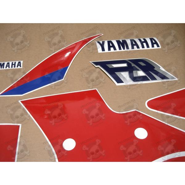 Stickers Decals Yamaha Fzr 1000 Year 1989 Whitered