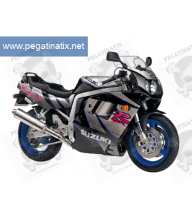Stickers Suzuki GSX-R 1100 1992 - BLACK GREY