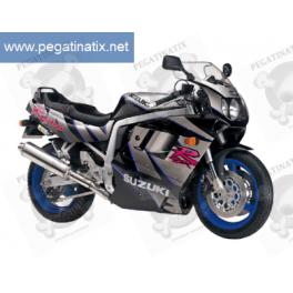 Stickers Suzuki GSX-R 1100 1992 - BLACK GREY