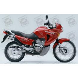 Honda Transalp Year 2002 Red