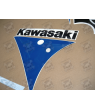 STICKERS KAWASAKI ZXR750 NINJA 1991 GREEN WHITE