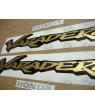 Stickers HONDA VARADERO XL 125 YEAR 2001 BLUE