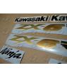 STICKER SET KAWASAKI ZX-6RR YEAR 2003 GREEN