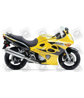 Stickers Suzuki KATANA GSX F600 YEAR 2003 YELLOW BLACK