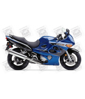 Stickers Suzuki KATANA GSX F600 YEAR 2002 BLUE BLACK