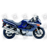 Stickers Suzuki KATANA GSX F750 YEAR 2005 BLUE VEERSION US