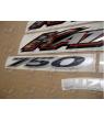 Stickers Suzuki KATANA GSX F750 YEAR 2000 RED VERSION US