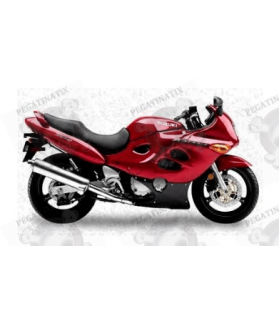 Stickers Suzuki KATANA GSX F750 YEAR 2000 RED VERSION US