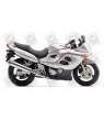 Stickers Suzuki KATANA GSX F750 YEAR 2001 SILVER VERSION US