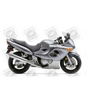 Stickers Suzuki KATANA GSX F750 YEAR 2004 TITANIUM VERSION US