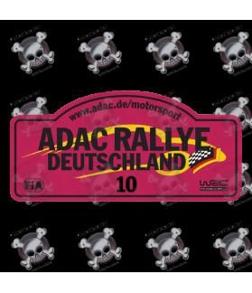 STICKER RALLY FIA WRC ALEMANIA 2017