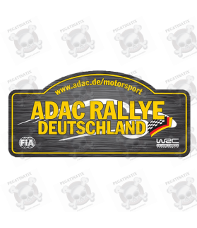 STICKER RALLY FIA WRC ALEMANIA 2018