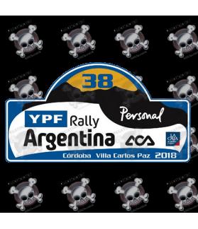 STICKER RALLY FIA WRC ARGENTINA 2018