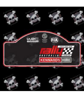 STICKER RALLY FIA WRC AUSTRALIA 2016