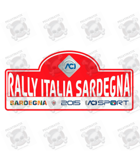 STICKER RALLY FIA WRC ITALY