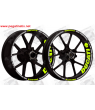 wheel stickers rims DUCATI CORSE PANIGALE