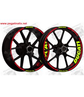 wheel stickers rims DUCATI MULTISTRADA