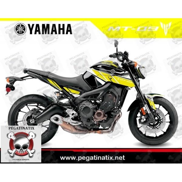 Aufkleber Yamaha Mt 09 2014 2016