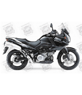 STICKERS SUZUKI DL1000 V-STROM 2004 BLACK