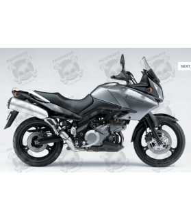 STICKERS SUZUKI DL1000 V-STROM 2006 GREY