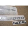 STICKERS SUZUKI DL1000 V-STROM 2005 RED
