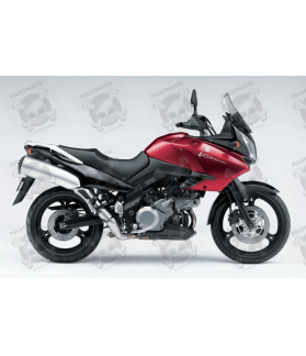 STICKERS SUZUKI DL1000 V-STROM 2005 RED