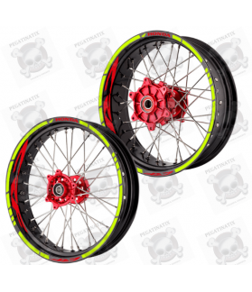 wheel stickers rims HONDA CRF 450R