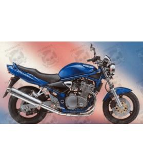 Stickers Suzuki Bandit 600N 1996 BLUE