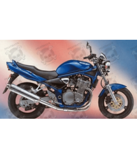 Stickers Suzuki Bandit 600N YEAR 1996 BLUE