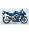 Stickers Suzuki SV 1000S BLUE YEAR 2004