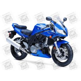 Stickers Suzuki SV 1000S BLUE YEAR 2007