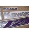 STICKERS KIT KAWASAKI ZX-12R YEAR 2004 RED 2