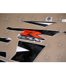 DECALS SUZUKI GSX-R 750 K4-K5 BLACK YEAR 2004-2005