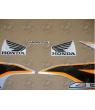Stickers Honda CBR 125R 2011 SILVER-ORANGE