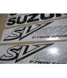 Sticker Suzuki SV 650S 2002 SILVER
