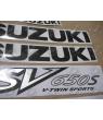 Sticker Suzuki SV 650S 2002 YELLOW